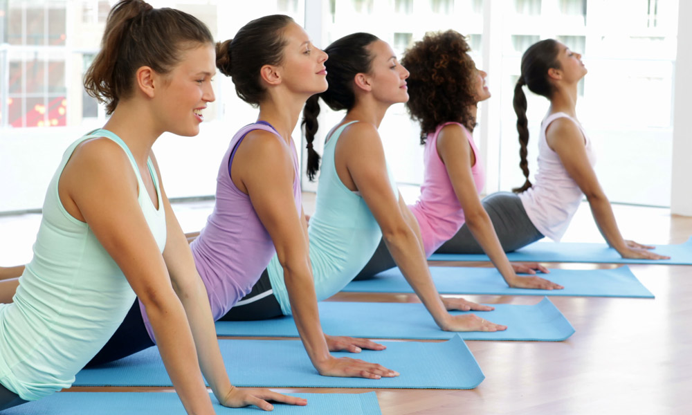 corporate yoga classes in hampshire