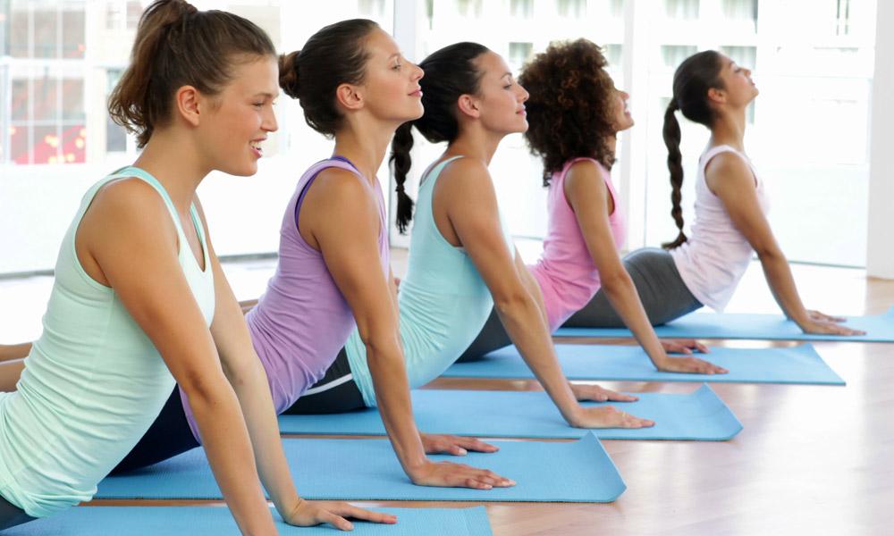 corporate yoga classes in hampshire